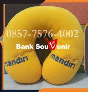 Souvenir Bantal Leher Promosi